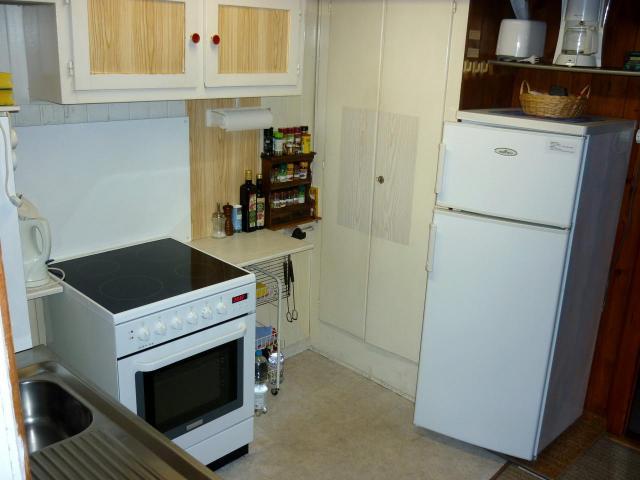 Ausgebaute Küche