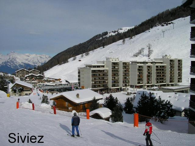 Siviez carrefour du ski pour les 4 vallées