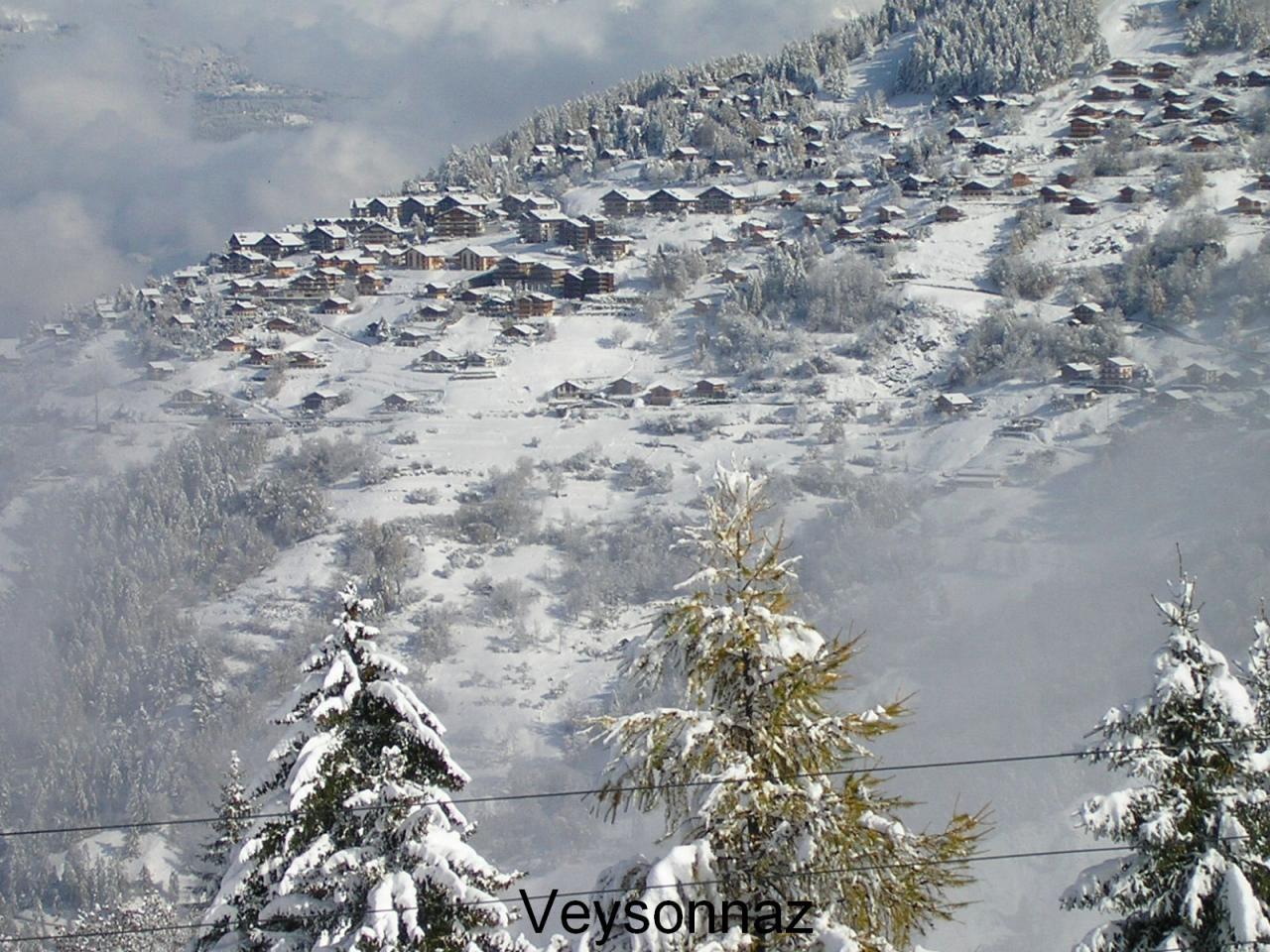 Veysonnaz (vue du mayen)