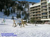 """Siviez, Ausgangstation für die Ski-Arena """"4 Täler"""""""