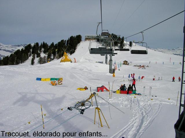 Le tracouet, Skischule für Kinder