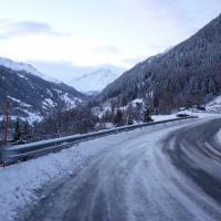 Strasse nach Siviez