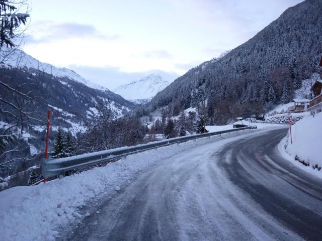 Route vers Siviez