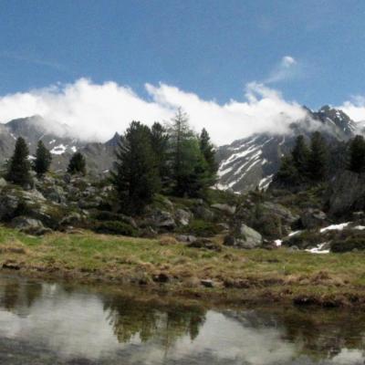 Lac Tortin Panorama