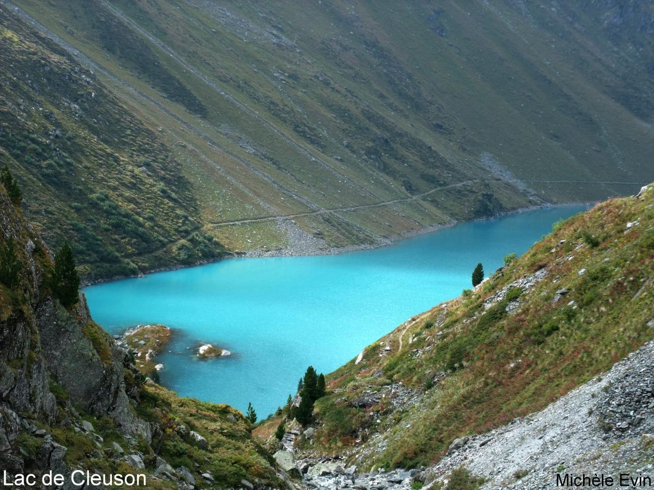 Cleuson, lac artificiel