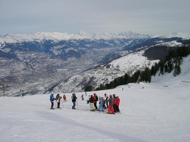 Ski au Tracouet 2'220 msm