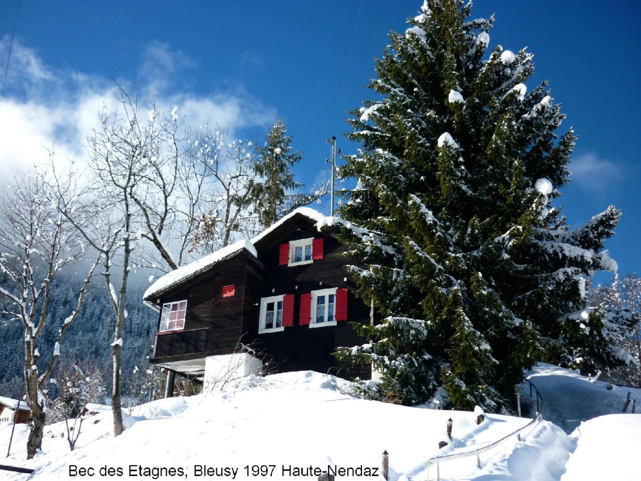 Ferien in den walliser Alpen (Schweiz)